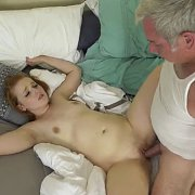 Dirty Redhead Coed Special Time With Grandpa