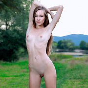 Beautiful Nude Mirabella In Nature