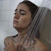 Wet Freckled Face Actress Sara Malakul Lane