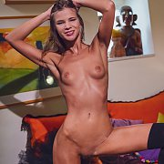 Tanned And Skinny Sarah Kay Nude