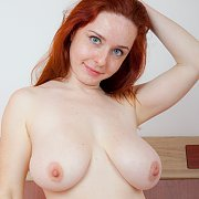Big Tits Redhead With Freckles