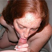 Blowjob From A Freckled Face Ginger Girl