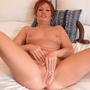 Dildo Banging Mature Lady