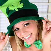 Sexy Teasing On St Patricks Day