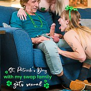 St Patricks Day With Swap Family