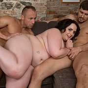 Big Girl With Two Men