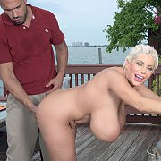 Knockers Mature Gets Butt Fucked