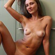 Nice Tan Lines Nude Erotica Brunette On The Floor