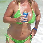 Wild Drinking Bikini Mom Always Looking For Dates