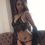 Lingerie Stripping Asian Beauty