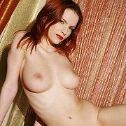 Erotic Nude Redhead Babe