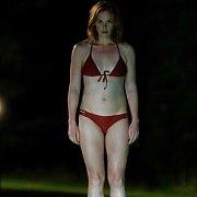 Firm Tummy Celebrity Ruth Wilson In A Red Bikini