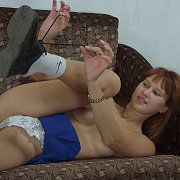 Darling Teen Shows Her Small Boobs And Feet