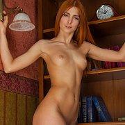 Red Hair Erotic Nude Beauty Carinela