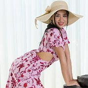 Erotic Thailand Girl Strips Off Dress