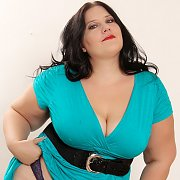 Fat She-Devil in a Blue Dress