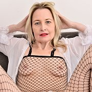 Emma Turner In Her Fishnet Bodysuit