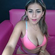Chesty Columbian Camgirl