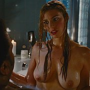 Celeb Actress Wet Showing Her Big Tits