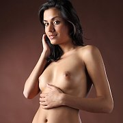 Sexy Exotic Babe Nude Studio Photo