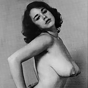 Topless Vintage Girl With Big Tits Photo