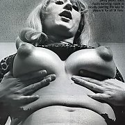 Wicked Vintage Puffy Nipples Lady