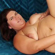 Chubby Mother Takes Fat Cock
