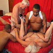 Old Swingers In An Orgy