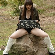 Flashing Panties In The Park