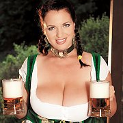 Beer Girl With Huge Titties And Braided Tails