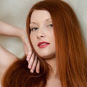 Redhead With Freckles Erotic Nude