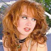 Classic redhead pornstar spreads