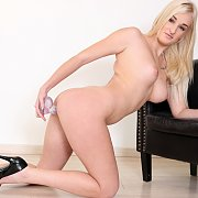 Blonde Dildo Banging