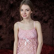 Cute Teen In Her Nightie