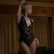 Arousing Blonde Being Naughty In Lingerie