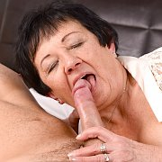 Grandma Gets Younger Cock
