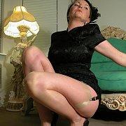 Garter Stockings Mature Teaser