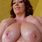 Oiled Up Big Titties Milf