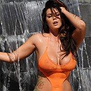 Busty Wet Bikini Babe