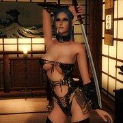 Hot 3D Elf In Lingerie Holding Her Sword
