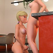 Chesty Frost Monster Getting Frost Cock In Her Mouth