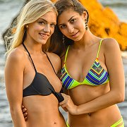 Sweet Young Ladies In Their Swimwear
