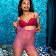 Purple Nylons Exotic Milf