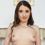 Bianca H Nude And Playing
