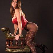 Hot Nylon Legs English Lady