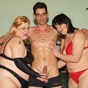 Kinky BBW Group Sex