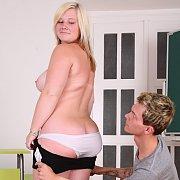 Chesty Schoolgirl Fat Teen Porn