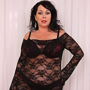 Alexis is a Chubby Mature Woman