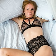 Lingerie Stripping Swedish Teen Model