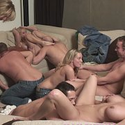 Party Game Leads To Huge Orgy